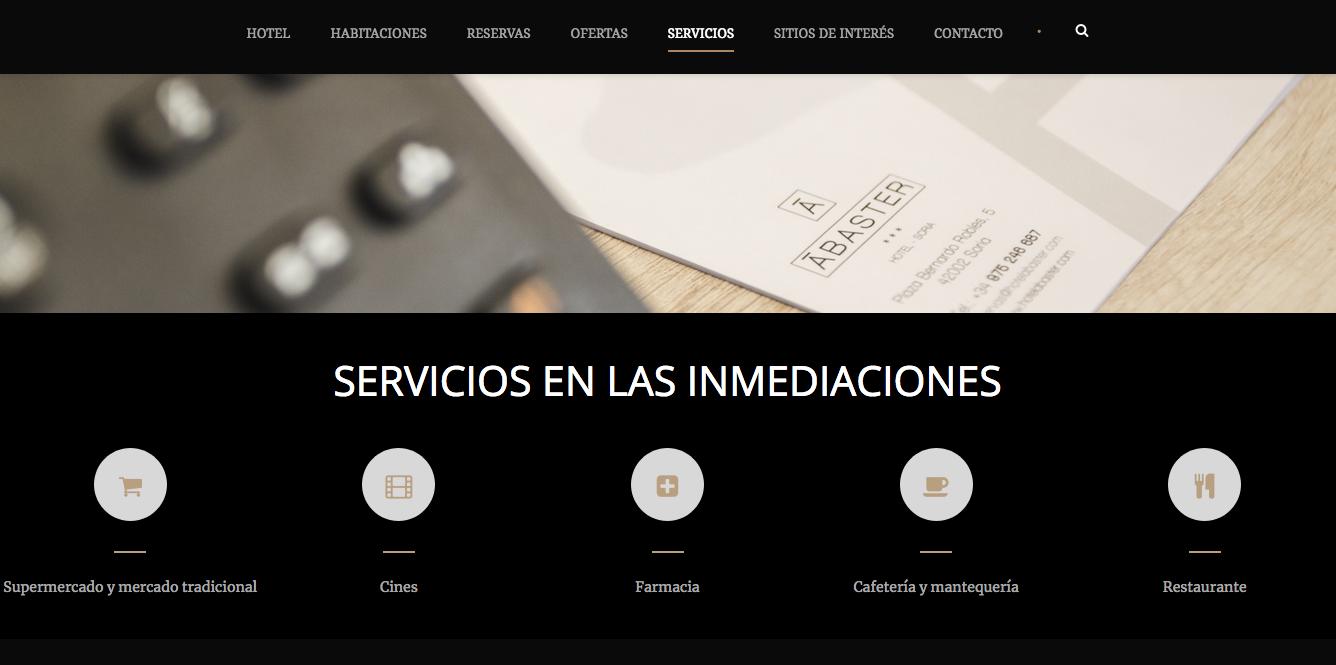 DISEÑO WEB HOTEL 2