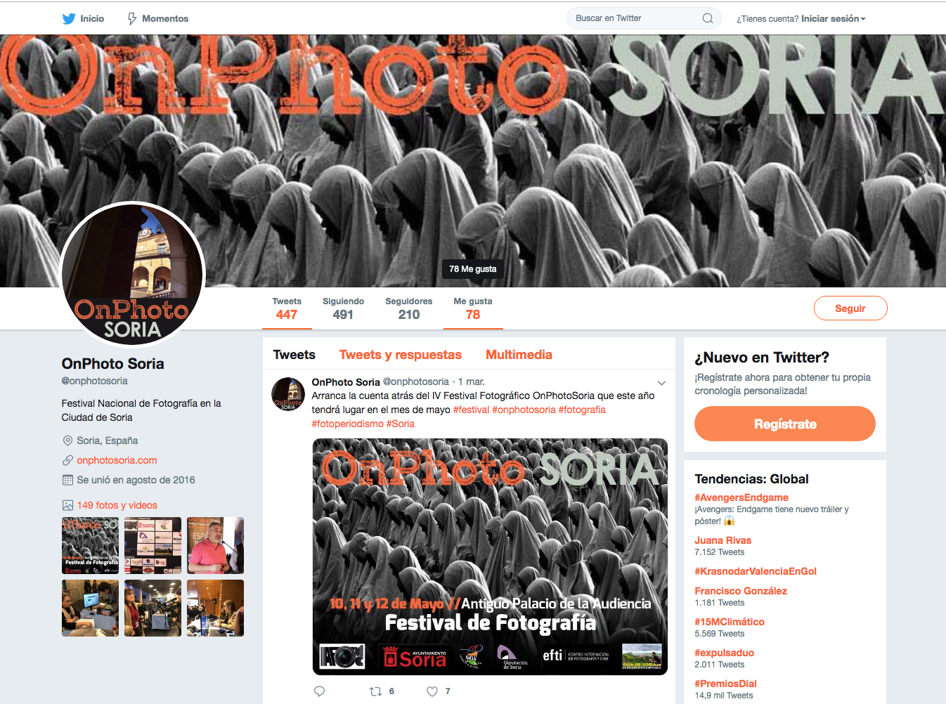 GESTION PERFIL REDES SOCIALES